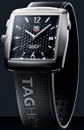 TAG Heuer Professional Golf WatchThis Swiss company has been crafting timepieces since 1860, and now it has designed a watch, with the help of Tiger Woods, specifically for golfers.                       $1,072 on amazon.com