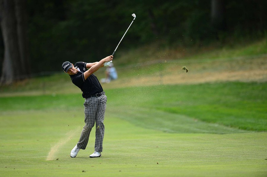 Nick Watney made four bogeys on the back nine to drop two behind Garcia.