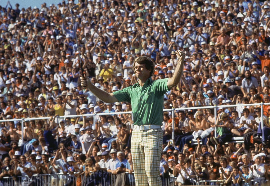 "Later that summer, Watson once again took on Nicklaus in the 1977 British Open at Turnberry. The ""Duel in the Sun"" found Watson and Nicklaus 10 shots clear of the third place finisher. In the end, Watson birdied 17 and 18 to clip Jack by one, and claim his second Open title."