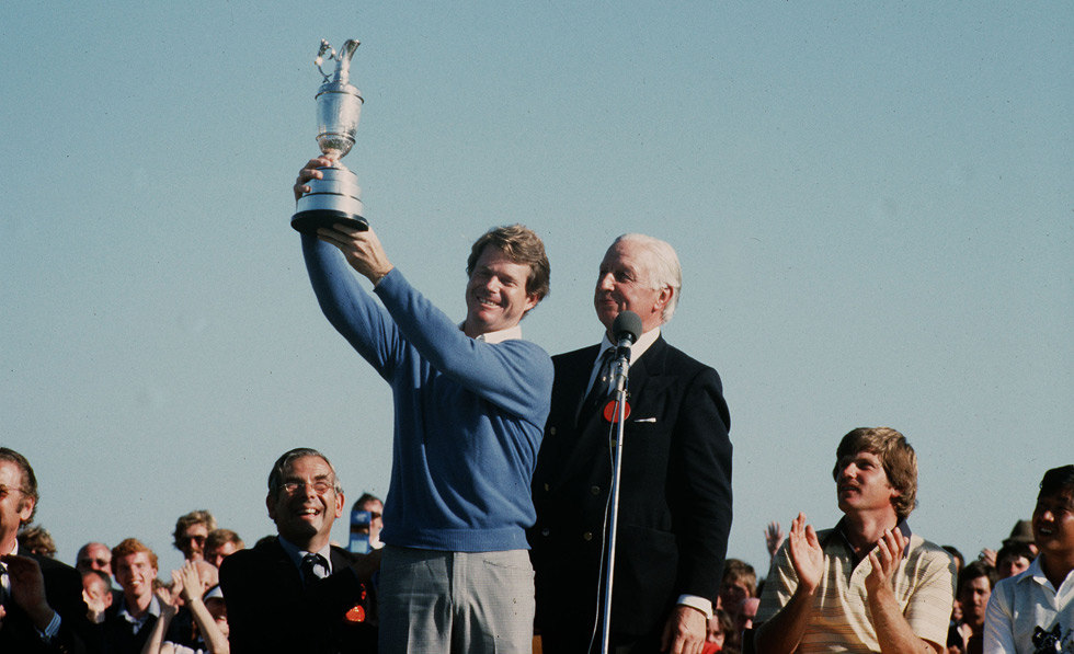 Watson won his fourth British Open at Royal Troon later that summer, edging Peter Oosterhuis and Nick Price by one stroke.