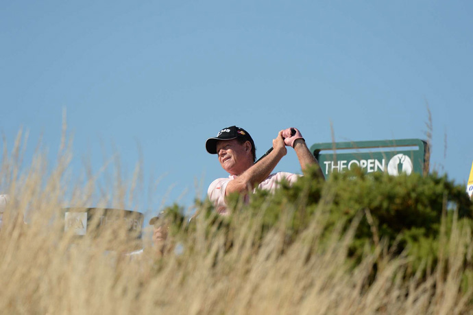 Tom Watson won't be around for the weekend after a 78 on Friday.