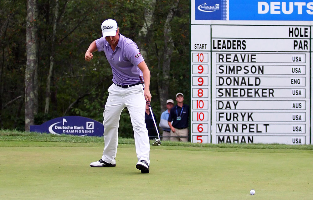 At the start of the 2011 season, Webb Simpson was just another promising, young player looking for his first PGA Tour win. By the end of the year, Simpson had two wins, 12 top 10s and narrowly lost out on the money title to Luke Donald. He also played a key role in helping the U.S. team win the Presidents Cup.