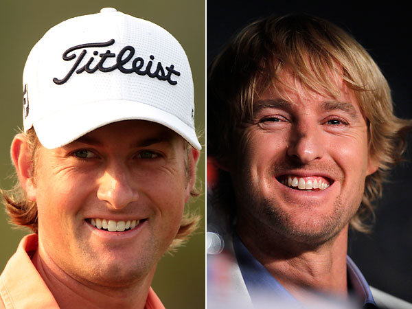 Webb Simpson and Owen Wilson