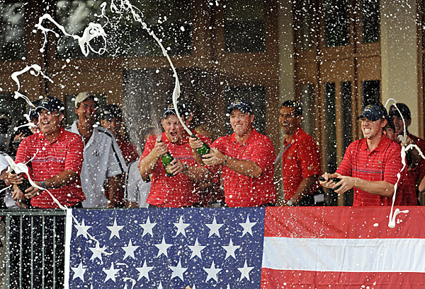 The U.S. Team was energized by four Ryder Cup rookies—Boo Weekley, J.B. Holmes, Hunter Mahan and Anthony Kim—who overwhelmed their European rivals.