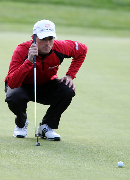 Mike Weir shot a bogey-free 67, which included an eagle on his final hole.