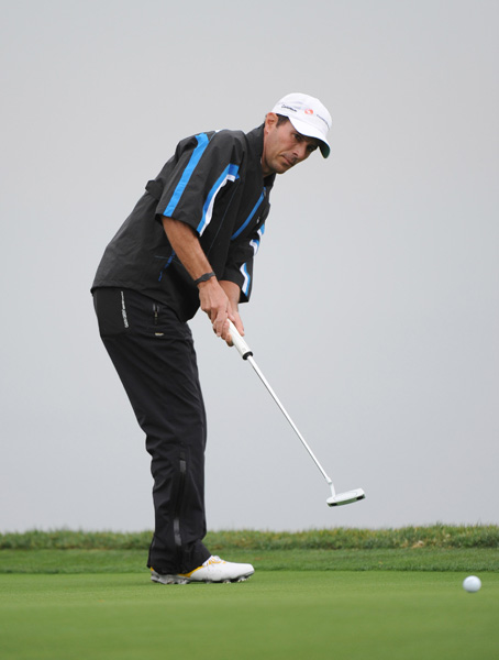Mike Weir, the 2003 Masters champion, made his first cut since July 2011.
