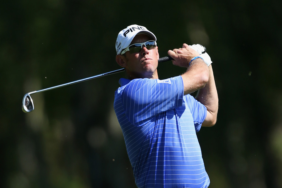 Lee Westwood barely made the cut after a 75.