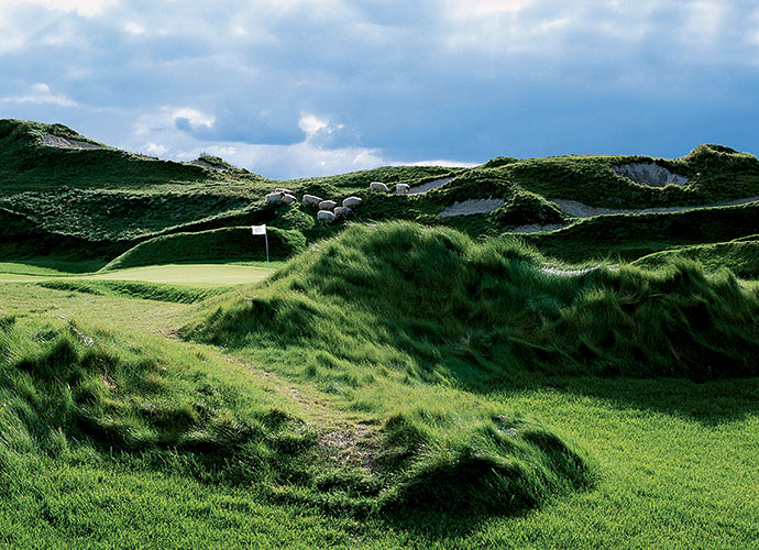 79. Whistling Straits Golf Club (Irish) Haven, Wisc.; Pete Dye (2000) -- $190-$220, americanclubresort.com