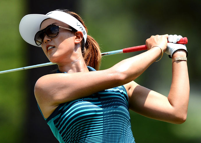 Michelle Wie, 24, is playing in her 11th U.S. Women's Open. She made her debut in 2003 and tied for 39th. Her only top-10 finish was a tie for third in 2006. This season Wie has eight top-10 finishes in 12 events.