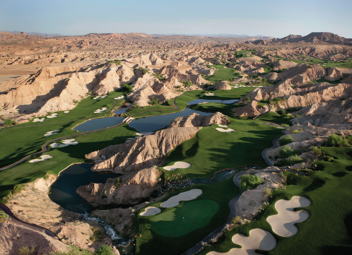 66. Wolf Creek Golf Club Mesquite, Nev.; Dennis Ryder (2000) -- $85-$195, golfwolfcreek.com