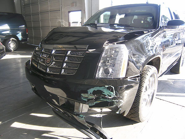 Nov. 27 - The Florida Highway Patrol reports that Woods crashed his Cadillac Escalade into a fire hydrant and a tree outside his Isleworth home in Windemere, Fla., at about 2:30 a.m. The report lists injuries as serious. Woods' spokesman later posts a statement on his Web site that Woods had been treated and released from a hospital. Rachel Uchitel denies having an affair with Woods in an interview with The Associated Press.                                              (All text from the Associated Press.)
