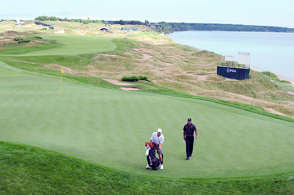 The Straits Course at Whistling Straits, designed by Pete Dye, appeared at No. 3 on GOLF Magazine's 2010 list of the Top 100 Courses You Can Play.