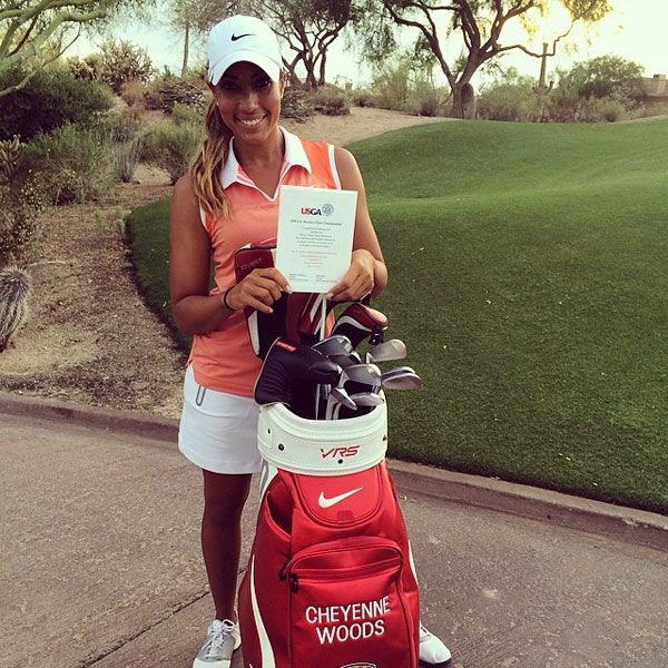 @cheyenne_woods: Guess who's headed to Pinehurst! #USWomensOpen