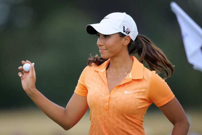 Cheyenne is the niece of Tiger Woods. She played college golf at Wake Forest and grabbed her first professional victory at the Volvik Ladies Masters on the Ladies European Tour in February.