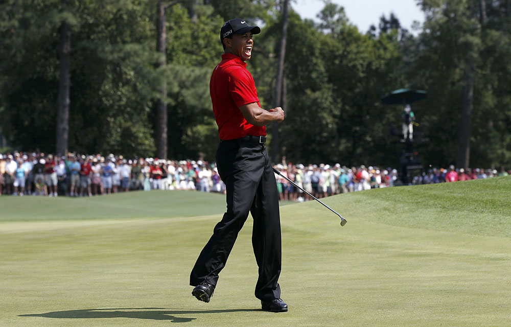 """I'm thankful for The Masters, for the excitement we got down the stretch at this year's tournament, and that it starts all over again in about four months."" -- David Dusek, Golf.com deputy editor"