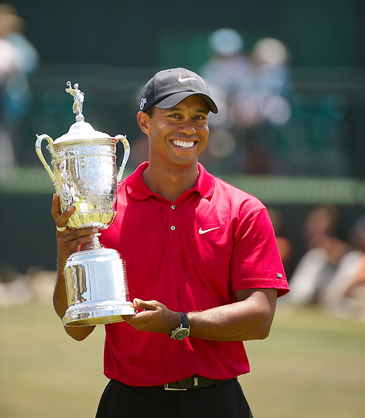 Woods has not won a major since that dramatic victory at Torrey Pines.