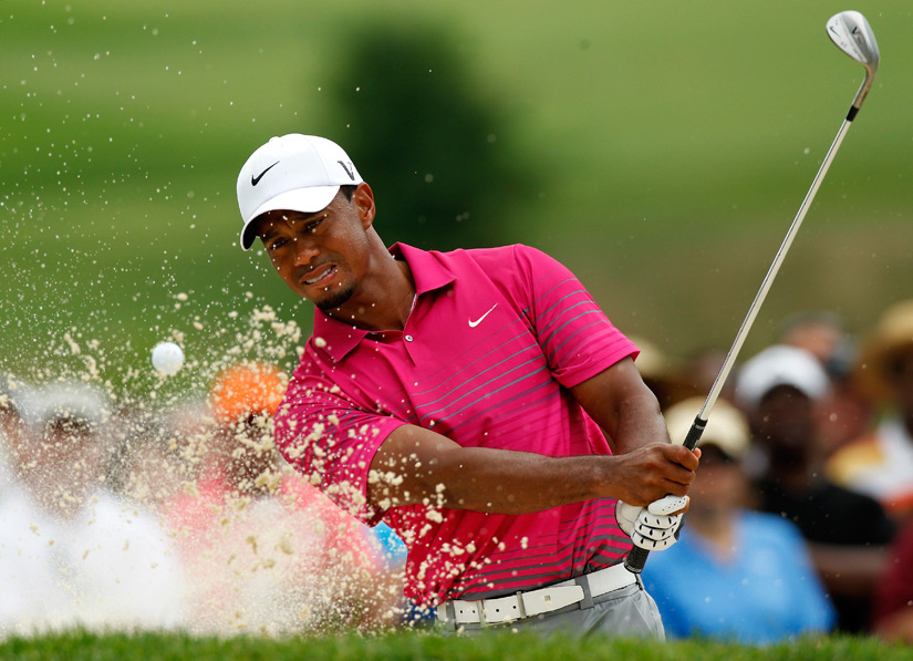 """I'm not that far off and just got to play one solid round tomorrow ... and get ready for the PGA,"" Woods said."