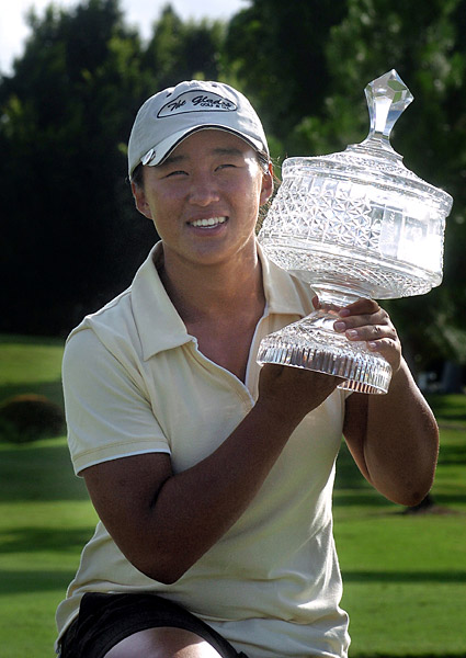 Amy Yang                       Amy Yang won the 2006 ANZ Ladies Masters on the Ladies European Tour when she was 16.