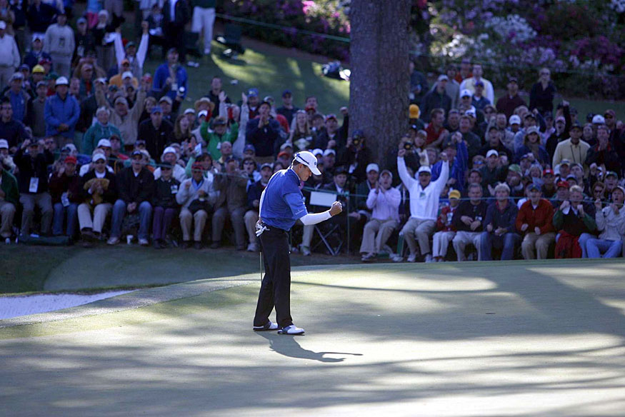 Zach Johnson tied the highest winning score ever at Augusta (+1) when he won the 2007 Masters.