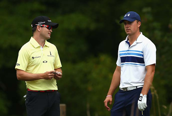 """I played five holes with him in a playoff. I'd like to forget that.""                     --Zach Johnson on whether he's played with Jordan Spieth. Johnson lost the John Deere Classic to Spieth in a five-hole playoff."
