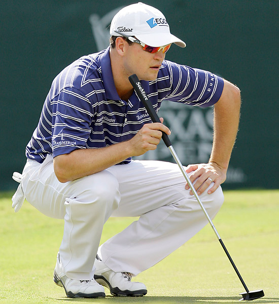 """The Case of the Painted Grass                     THE DEFENDANT: Zach Johnson                     THE CASE: On the green of the par-4 11th at the 2008 Valero Texas Open, the inside of the cup had recently been painted, and flecks of paint were scattered near the hole. Johnson was given permission to brush the flecks from the green, but as he got to the last one, he discovered that it was stuck to the grass. Johnson realized that by removing the painted grass, he might inadvertently improve his line of putt. So Johnson called over a rules official. """"I asked him, 'Can you or I do anything here?'"""" Johnson recalls.                     Go to the next page for the verdict."""