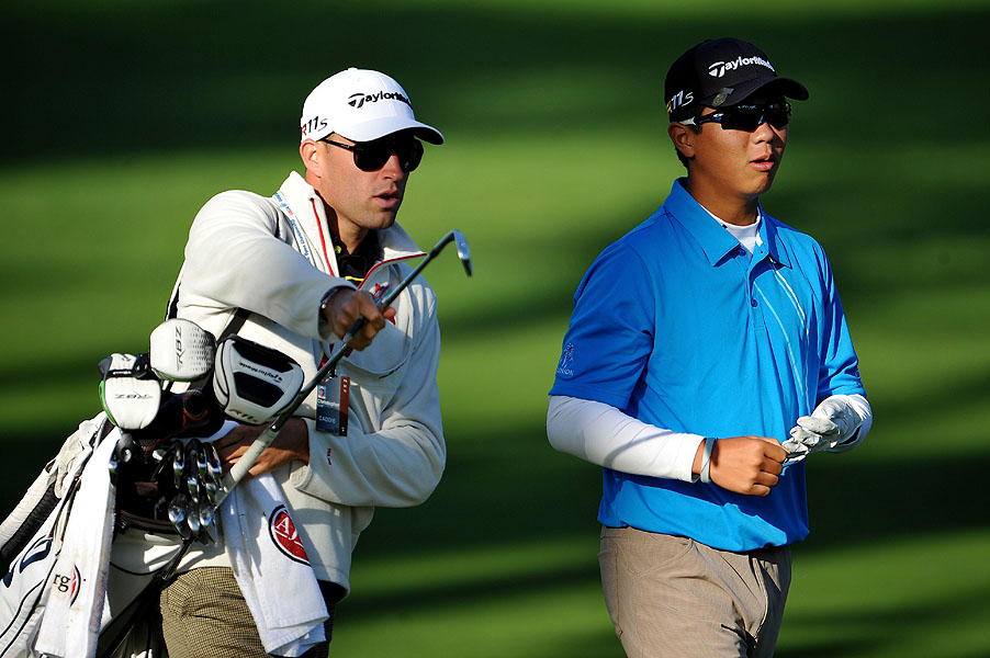 At 14, Andy Zhang is the youngest player ever to qualify for a U.S. Open. He made the field when Paul Casey withdrew.