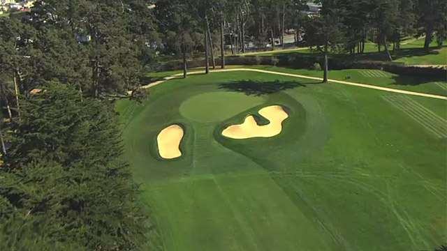 Olympic's monster 670-yard, par-5 16th Hole