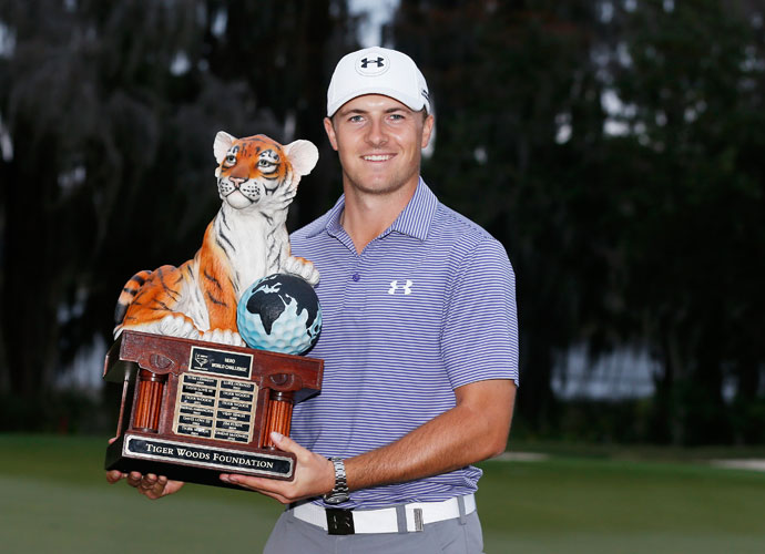 The win was Spieth's second dominant victory in as many weeks. He also won last week's Australian Open by six shots.