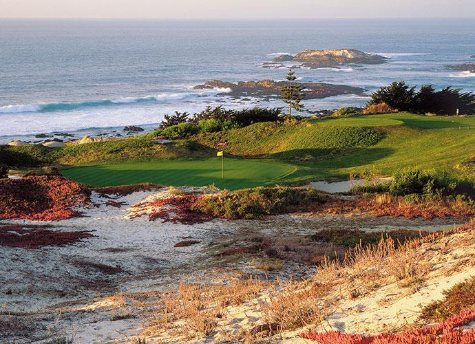 No. 3 at Spyglass Hill Golf Course