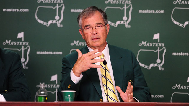 Augusta National Chairman William Payne.