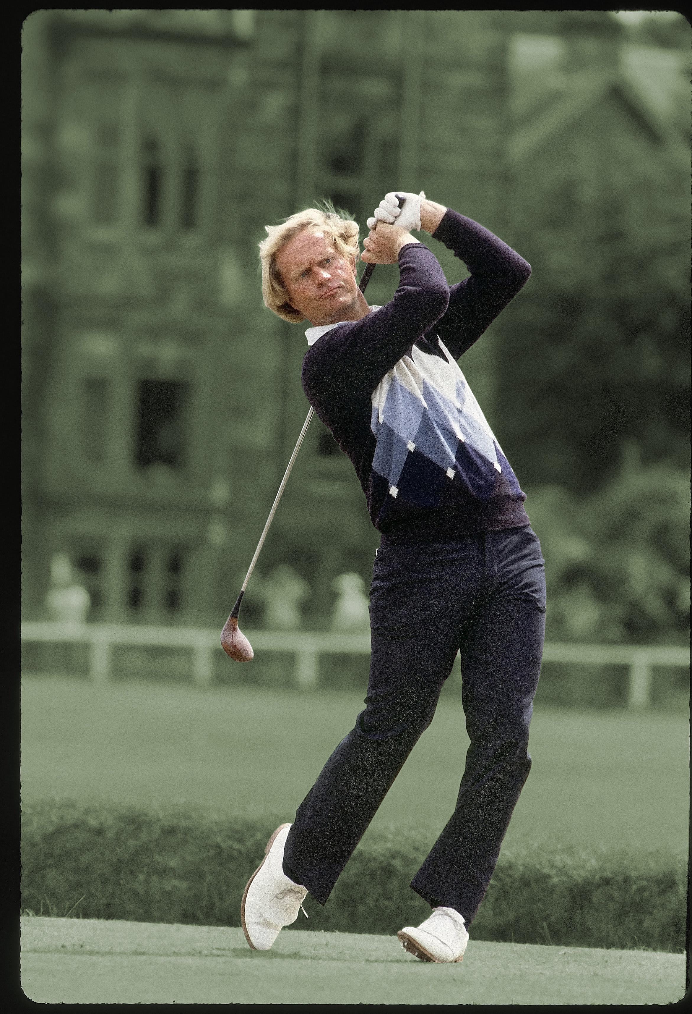 Jack Nicklaus at the 1978 British Open at St. Andrews.