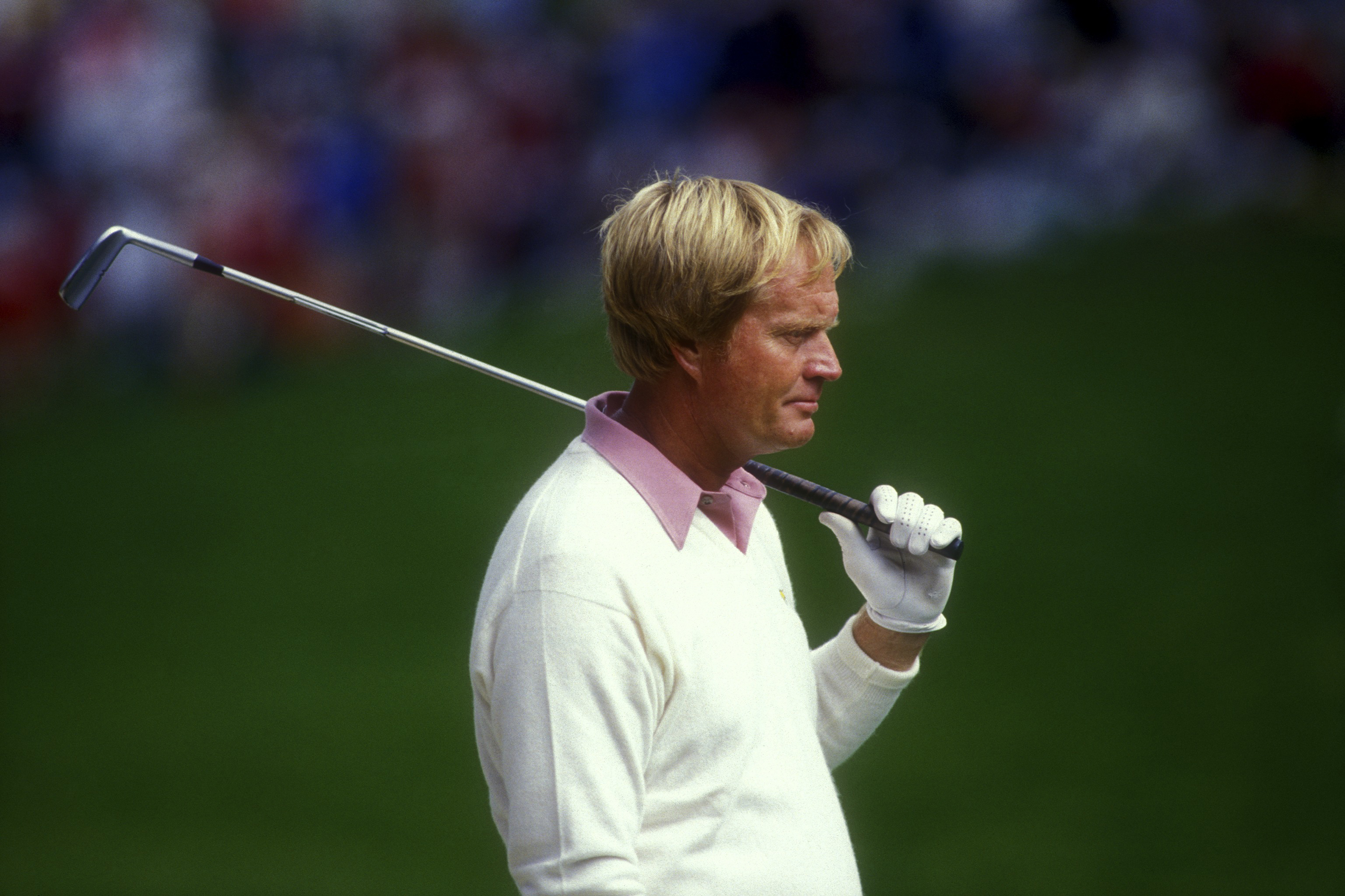 Jack Nicklaus on No. 18 during 1987 U.S. Open at the Olympic Club in San Francisco.