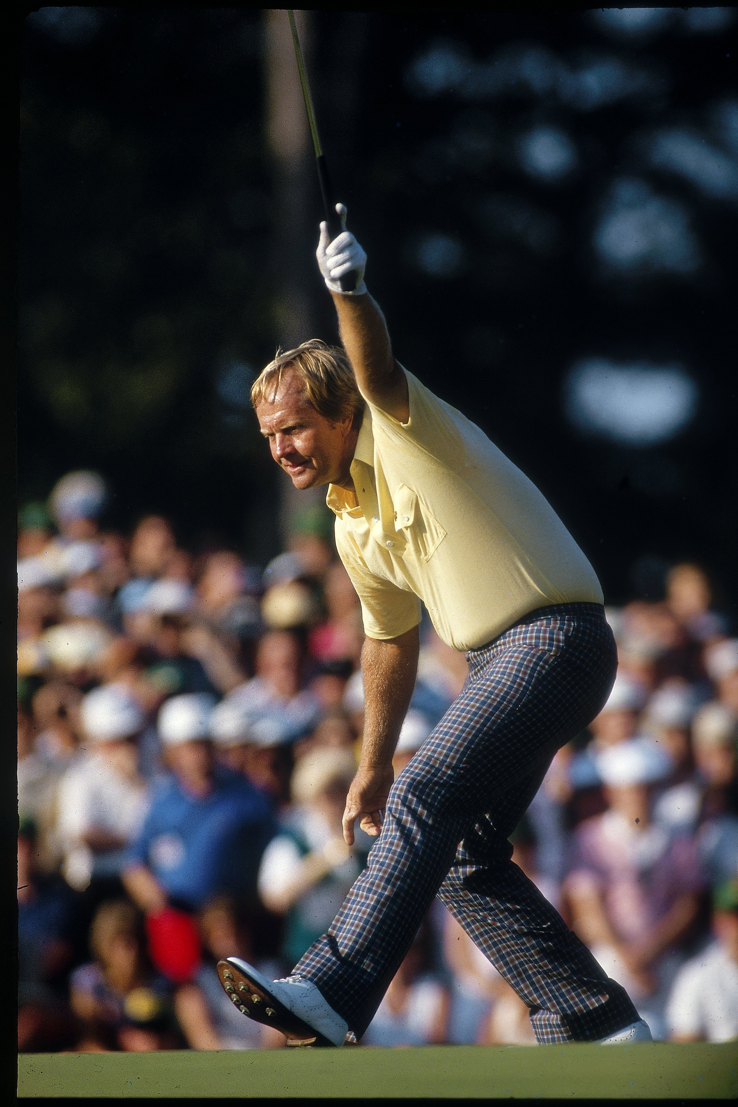 """The Bear has come out of hibernation."" Jack Nicklaus at the 1986 Masters."