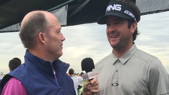Gary Van Sickle's first question to Bubba Watson: 'What's your second favorite jacket in your closet?'