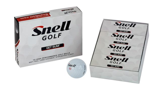Snell Golf Get Sum Golf Balls