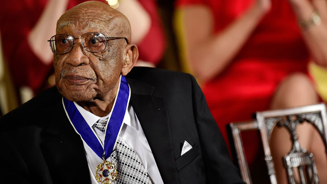 President Barack Obama presented Charlie Sifford with the Presidential Medal of Freedom in November 2014.