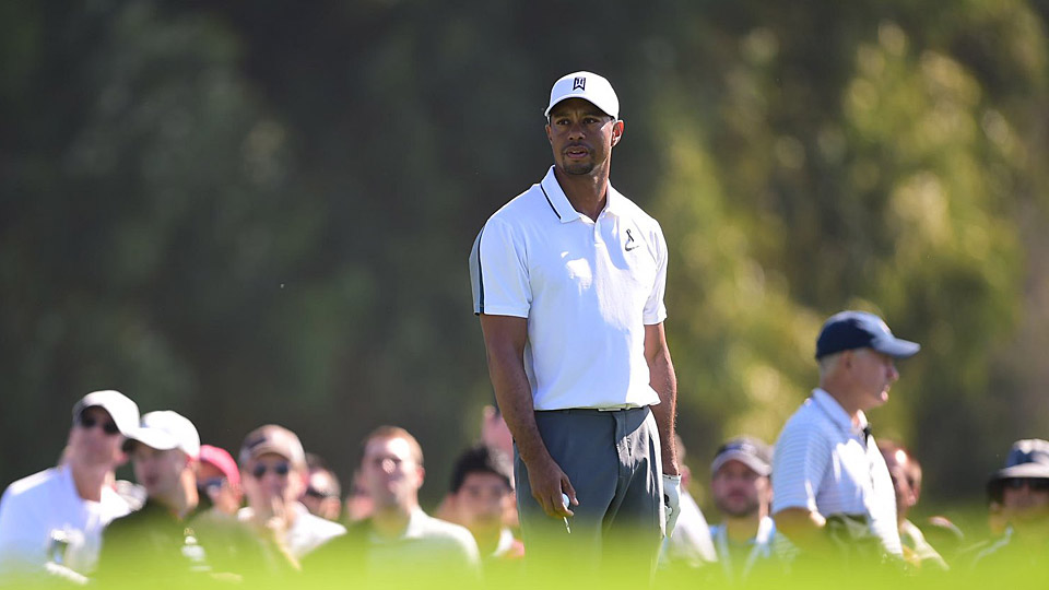 Tiger Woods fell to No. 62 in the world golf rankings following his WD at the Farmers Insurance Open.