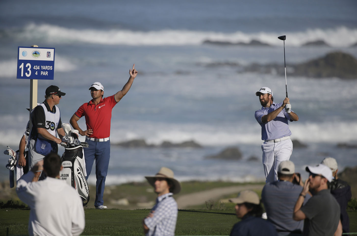 brandt snedeker cruises to record breaking win at pebble beach ap eric risberg