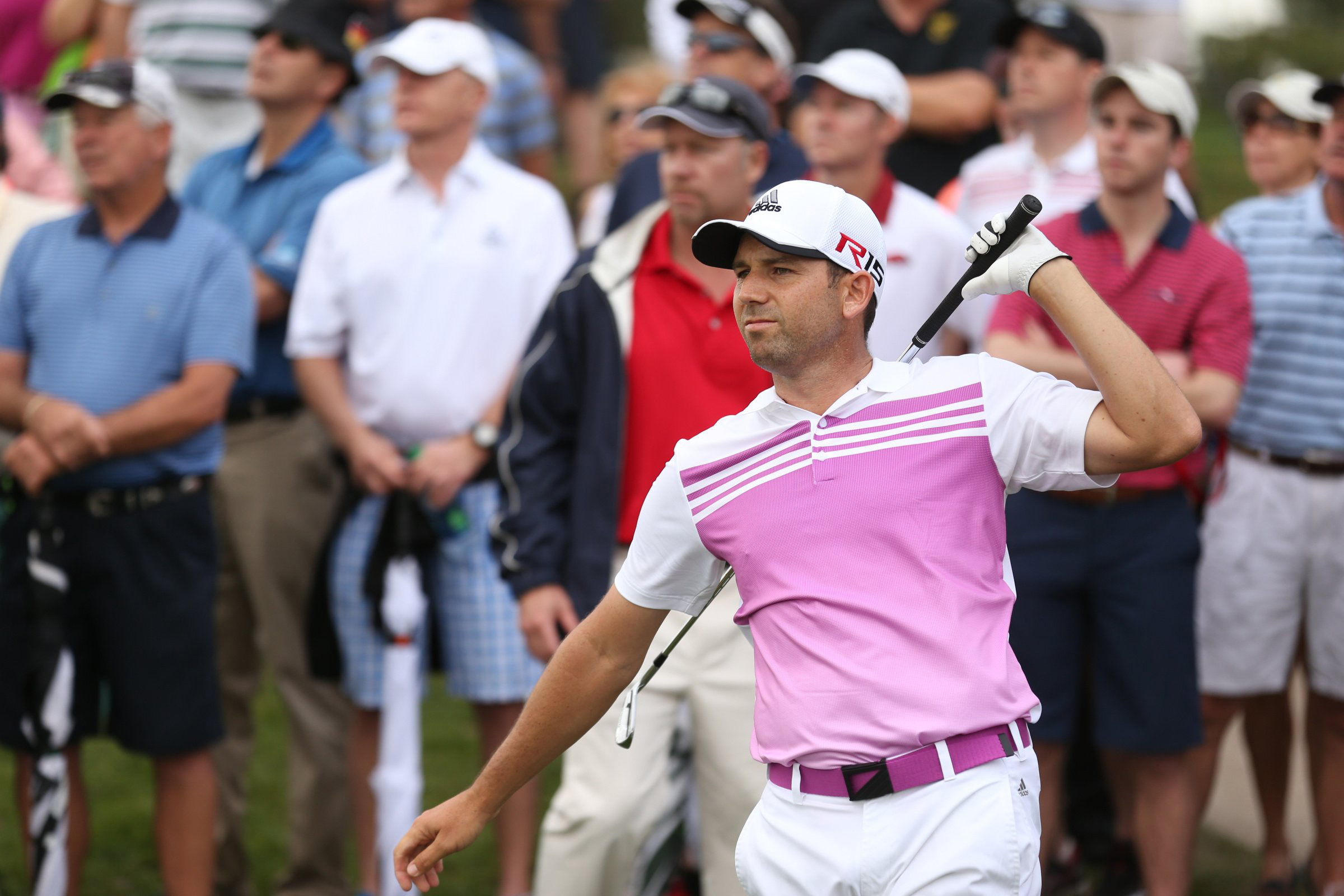 Sergio Garcia was T25 after two rounds at the Honda Classic.