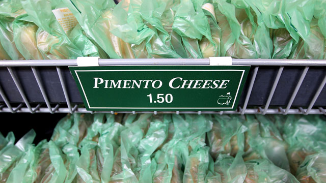 The famous pimento cheese at Augusta National costs only $1.50