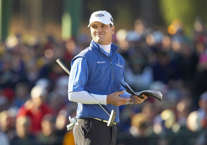 Zach Johnson at the 2007 Masters