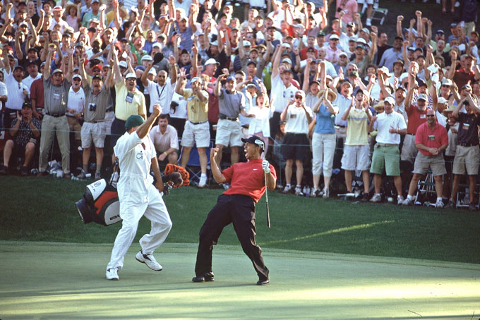 Tiger Woods at the 2005 Masters