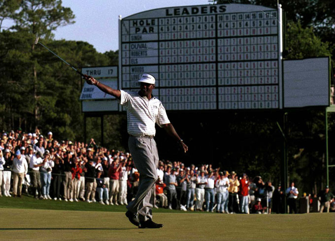 Vijay Singh at the 2000 Masters