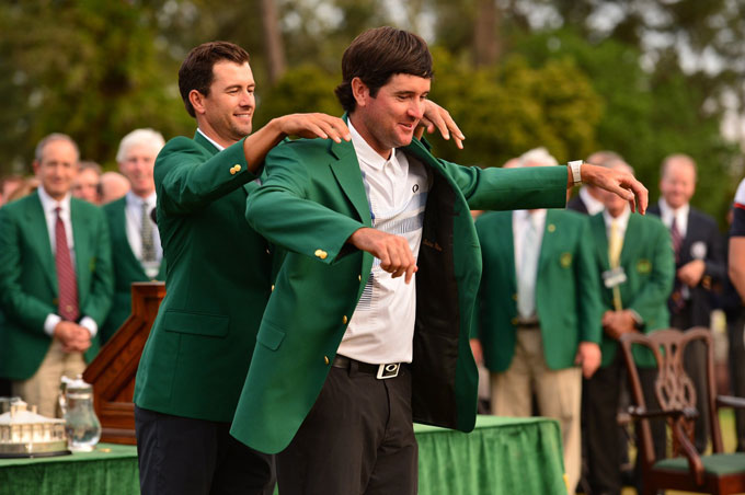 Bubba Watson at the 2014 Masters