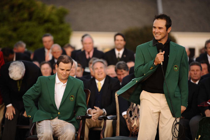 Trevor Immelman at the 2008 Masters