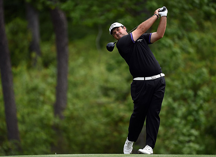Patrick Reed's five-under 67 included a hole-in-one at the 16th hole.