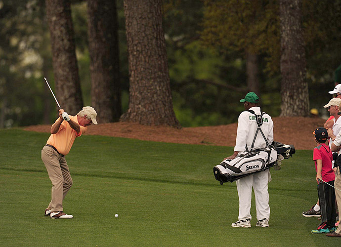 Two-time Masters champion Ben Crenshaw is playing in his final Masters this year.