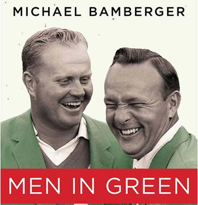 The cover of 'Men in Green' by Sports Illustrated senior writer Michael Bamberger.