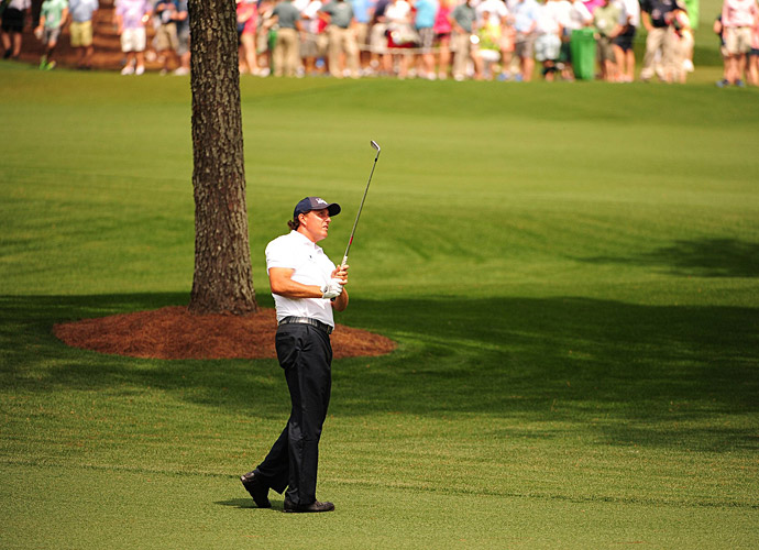 Mickelson had two early birdies and an eagle on the eighth hole.