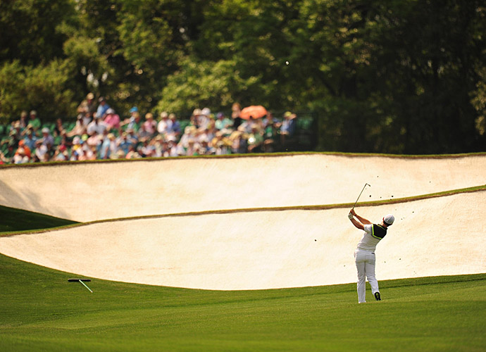 McIlroy didn't get off to a hot start. He was just one under through 16.